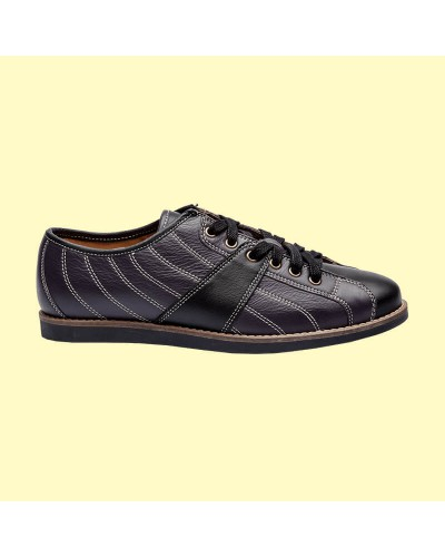 the Bowler - black/dark violet
