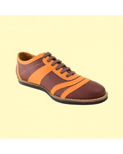old Bowler - brown/orange