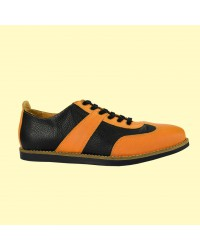 the Golfer - schwarz/orange