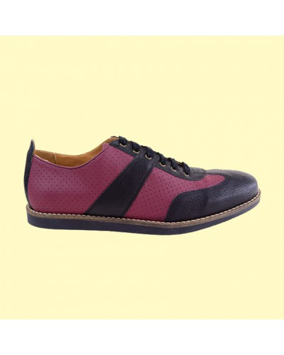 the Golfer - bordeaux/black