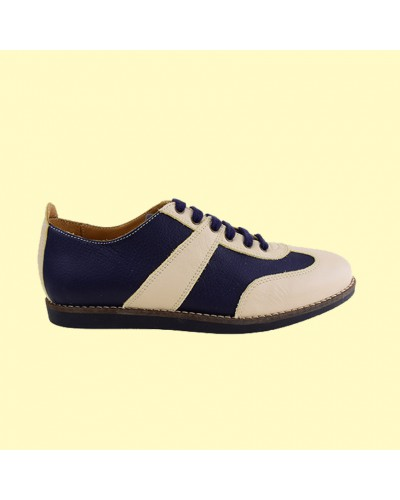 the Golfer - darkblue/white