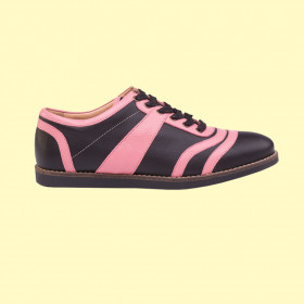 old Bowler - pink/black