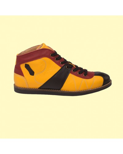 the Kicker - yellow/red/black