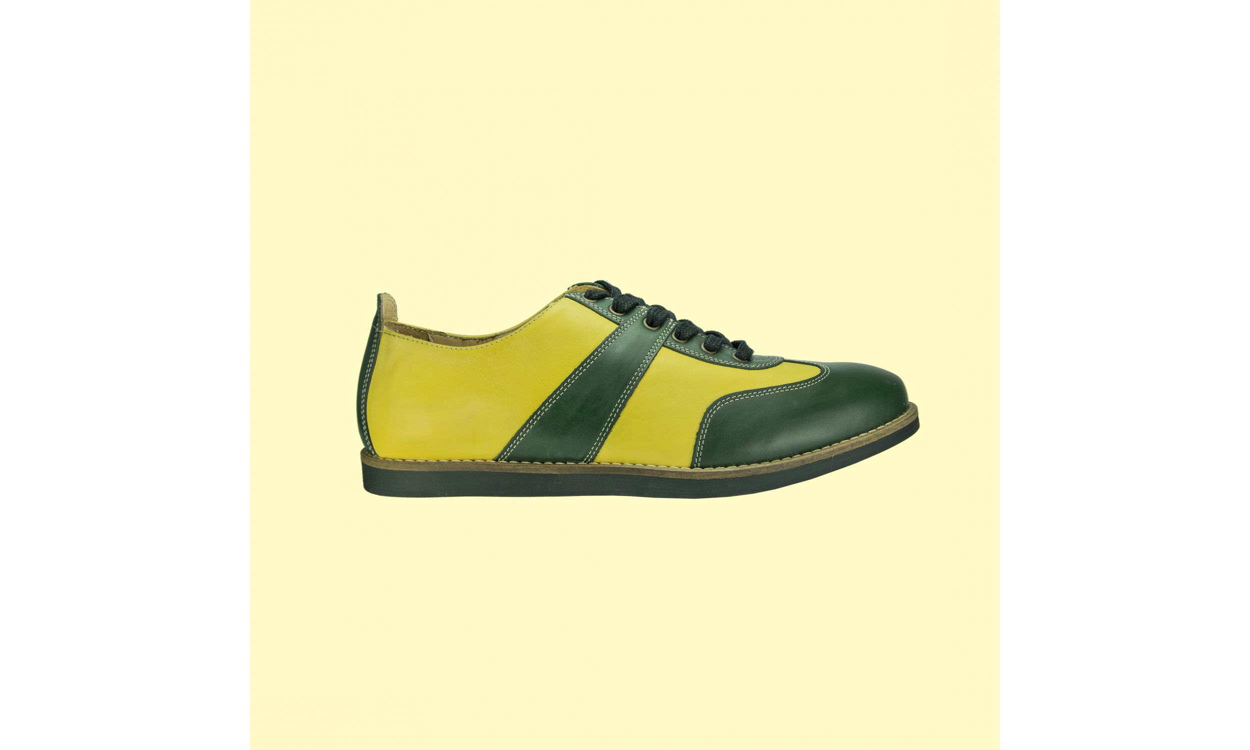 The Golfer - Yellow/Green