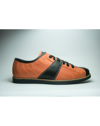 the Bowler - orange/black