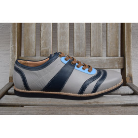 the Bowler - gray/blue