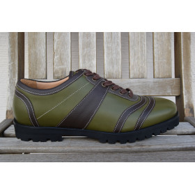 the mountain Bowler - green/brown
