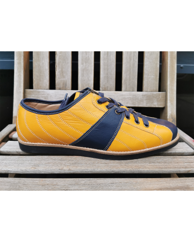 new Bowler - Yellow/Blue